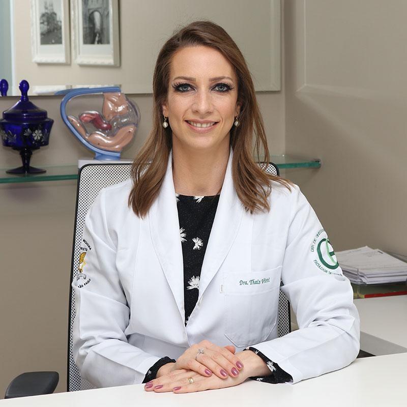 Dra. Thais Vitti - Médica ginecologista especialista em reprodução humana.